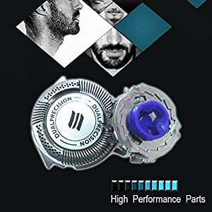 Zhhlinyuan 3 PACK Shaver Outer Foil Replacement Blades for Philip HQ8155 HQ8174 HQ8253 HQ9020 HQ9190 AT940 AT921 HQ9070 PT920 HQ8150 HQ9080 HQ8170