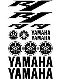 ALOBA kit pegatinas Vinilo para YAMAHA YZF R1 vinilo de corte con papel transportador, tamaño