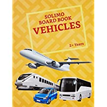 Amazon Brand - Solimo Long Board Book, Vehicles