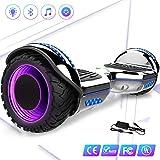 Mega Motion 6.5 Self Balance Scooter elettrico auto bilanciamento con LED su ruote- Bluetooth e...