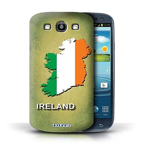 Kobalt® Imprimé Etui / Coque pour Samsung Galaxy S3/SIII / Afrique du Sud/Afrique conception / Série Drapeau Pays Irlande/irlandaise