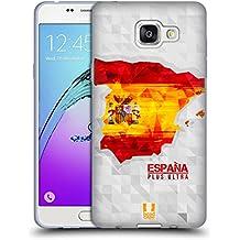 Head Case Designs Espagne Cartes Géométriques Étui Coque en Gel molle pour Samsung Galaxy A5 (2016)
