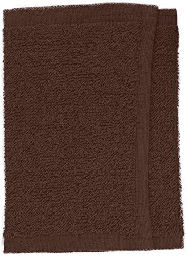Fripac-Medis Gant de Toilette Eponge Chocolat 30 x 15 cm