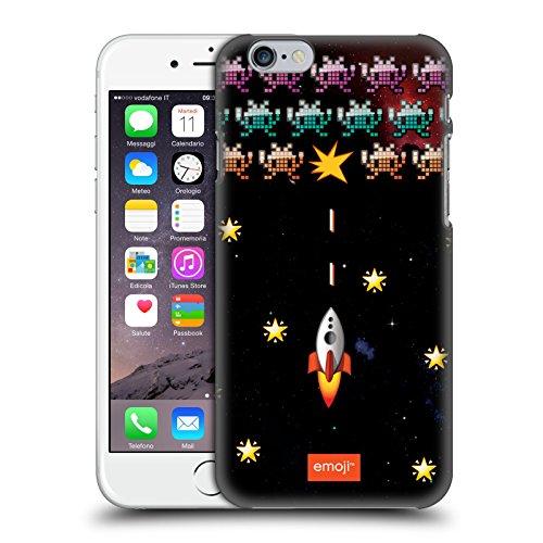 Ufficiale Emoji Casa Spazio Cover Retro Rigida per Apple iPhone X Invasione