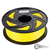 #7: 3D Innovations™ 3D Printer Filament (1 Kg, PLA, Yellow,1.75 mm Dia.)