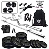 SPORTO FITNESS PVC Home Gym Kit Combo, 20 Kg