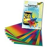 Creative NEU Transparentpapier Regenbogen 22.5x32cm 10 Stk.