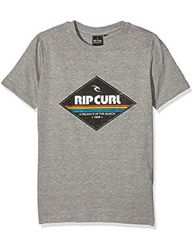 Rip Curl Diamond Camiseta para niño Beton Gris Beton Marle Talla:10 años (talla del fabricante: 10)