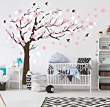 BDECOLL Kent arbre papillon DIY Stickers muraux, arbres Stickers muraux Papier peint amovible Stickers muraux Home Decor Living Chambre filles Chambre, chambre de bébé, Creative Art Deco