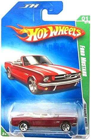 Hot Wheels 2009 Ford Mustang Treasure Hunt Hunt Hunt 1 of 12 MOC by Hot Wheels 9ad969