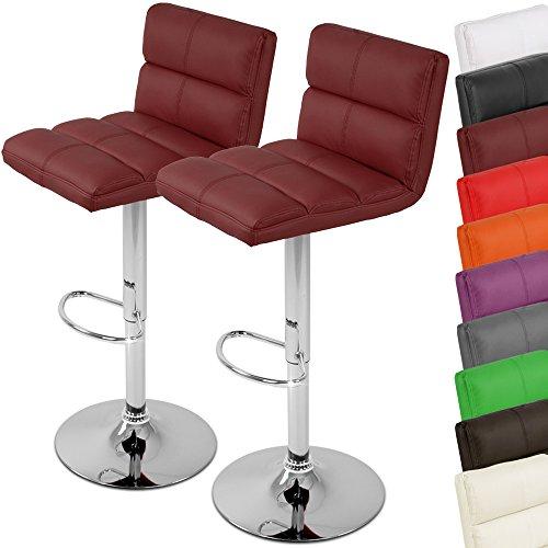 Miadomodo Barhocker Barstuhl - dreh und höhenverstellbar Setwahl Farbwahl