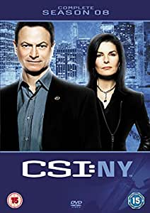 CSI New York: Complete Season 8 [DVD]