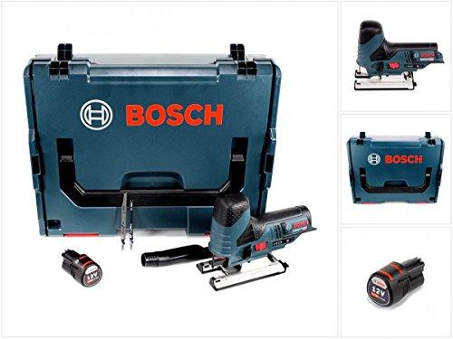 Preisvergleich Produktbild Bosch GST 12V-70 Professional Akku Stichsäge in L-Boxx + 1 x GBA 12 V 2,5 Ah Akku