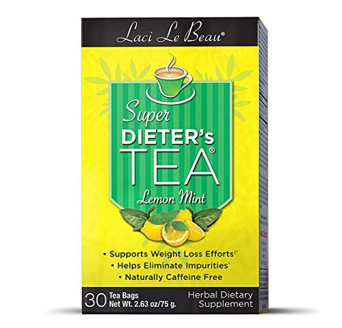 SUPER DIETER'S TEA (Lemon Mint) 30 Tea Bags
