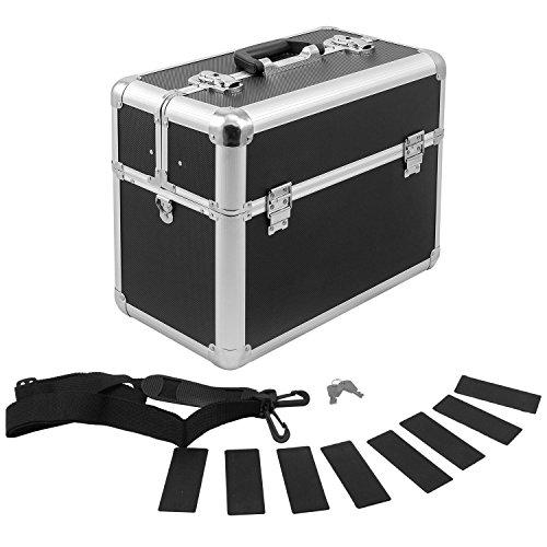 Werkzeugkoffer Alurahmenkoffer Multikoffer Etagenkoffer abschließbar schwarz