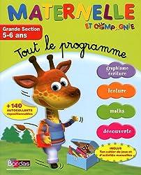 Tout le programme Grande Section 5-6 ans