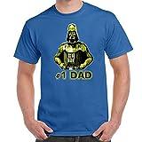 Herren Lustige Spr�che fun T Shirts-Darth Vader No 1 DAD Star Wars Inspired-tshirt