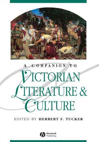 A Companion to Victorian Literature & Culture (Blackwell Companions to Literature and Culture)