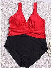 Costumi da bagno da gara HJL Per Donna A Fascia Tinta Unita Intero XL