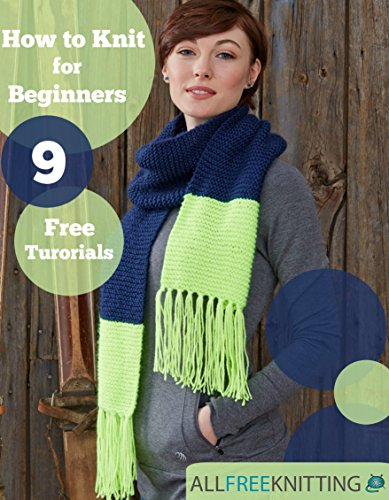 free kindle book How to Knit for Beginners: 9 Free Tutorials