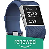 (Renewed) Fitbit Surge Ultimate Fitness Super Watch, Small(Blue)