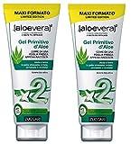 Zuccari–Gel primitif d'aloe2–2boîtes de 250ml Protège, répare, idrata et lenisce également la peau plus sensible