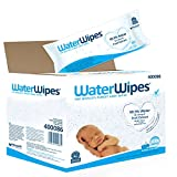WaterWipes Baby Wipes Sensitive Skin, 18 Packs x 60 Wipes (1080 Wipes)