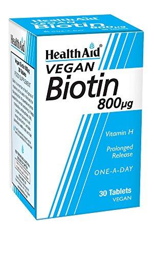 HealthAid Biotin 800g - 30 Tablets