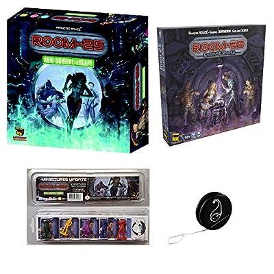 Pack Room 25 (2° édition) + Extension Escape Room+ Pack Update de 6 Mini Figurines + 1 Yoyo Blumie
