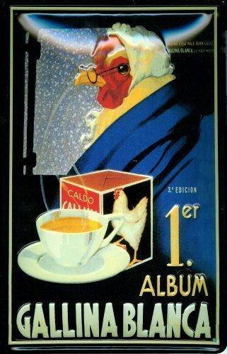 gallina-blanca-1sheet-metal-plaque-sign-metal-tin-sign-20x-30cm