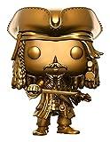 FunKo13842 Pirates des Caraïbes 5, Figurine de Jack Sparrow, Couleur Or