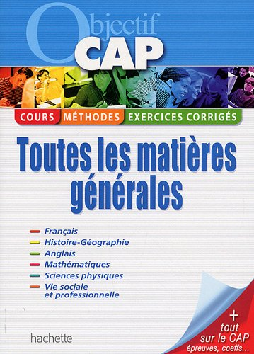 Objectif CAP : Toutes les matires gnrales