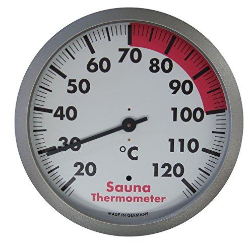 TFA Dostmann Analoges Sauna-Thermometer, hitzebeständig