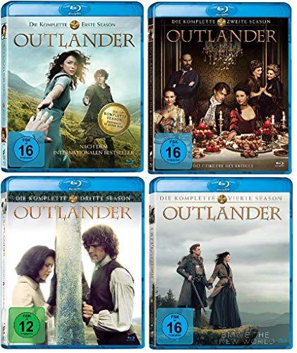 21 Komplett-set (Outlander - Die komplette Season / Staffel 1-4 (1+2+3+4) im Set - Deutsche Originalware [21 Blu-rays])