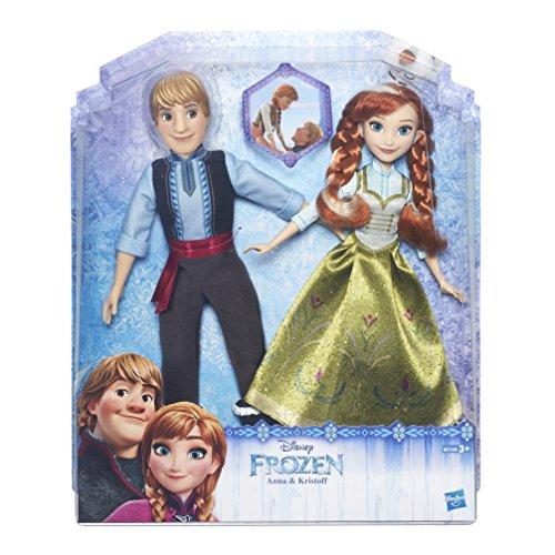 Disney Frozen Muñecos, Color Verde y Azul (Hasbro Spain B5168EU4)