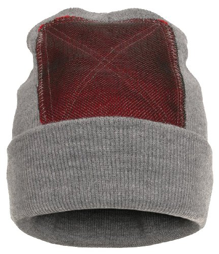 BACKSPIN FUNCTION WEAR 'Beanie' Headspin-Cap - heather grey - OneSize