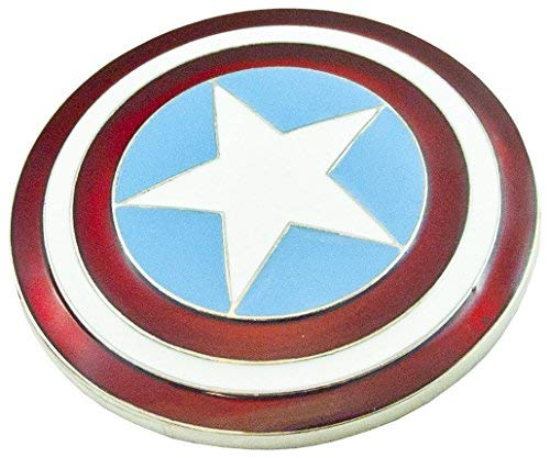 Original Captain America enamel ()