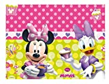 Amscan Nappe plastique Minnie Bow-Tique