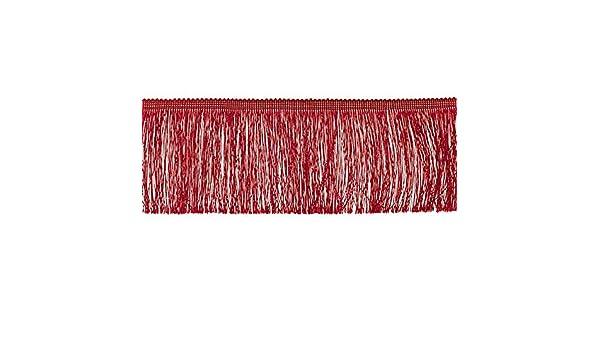 Fransen Fransenborte 10 cm breit pink Borte Accessoires Karneval Dekorationen Preis gilt f/ür 1 m