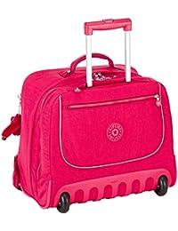 Kipling - CLAS DALLIN - Sac à dos à roulettes - Cherry Pink Mix - (Rose)