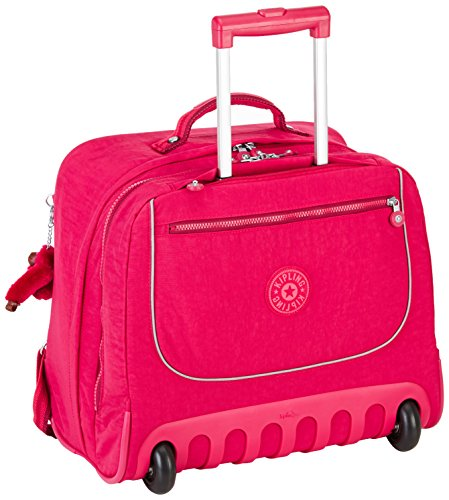 Kipling – CLAS DALLIN – Mochila con ruedas – Cherry Pink Mix – (Rosa)
