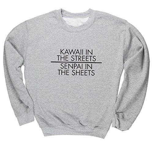 hippowarehouse-kawaii-in-the-streets-senpai-in-the-sheets-unisex-jumper-sweatshirt-pullover