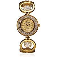 Jainx Bride Analogue Golden Dial Women's Watch-JW512