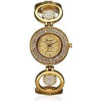 Jainx Bride Analogue Round Golden Dial Women's Watch-Jw512