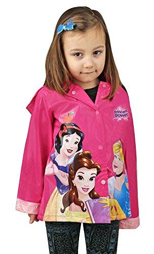 Disney Mädchen Regenjacke Rosa Pink, Rosa (Rose), (Für Teens Cinderella Kleid)