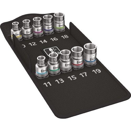 Preisvergleich Produktbild Wera 8790 HMC HF 1 Bit-Sortiment, Zyklop Steckschlüsseleinsatz-Satz mit Haltefunktion, 05004203001