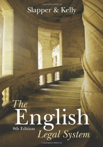 The English Legal System: n/a: Volume 2
