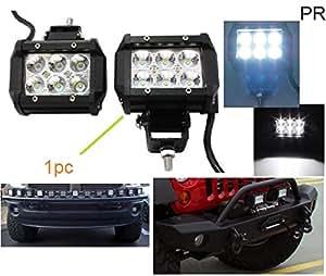 PR Fog Light Assembly 6 Led 18w Car Aux FOG LIGHT/WORK LIGHT BAR SPOT BEAM OFF ROAD DRIVING LAMP 1 PC-Hyundai Terracan