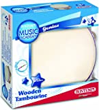 BONTEMPI-TMW 18-instrument de musique-Tambourin  bois diamètre 18 cm