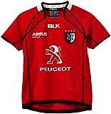 BLK Away Stade Toulousain Maillot Garçon Rouge FR : 8 ans (Taille Fabricant : 8 ans)